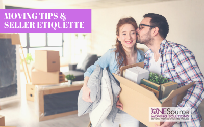 Moving Tips and Seller Etiquette